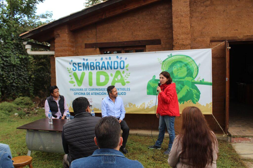 Inauguran en Pátzcuaro oficinas del programa federal Sembrando Vida