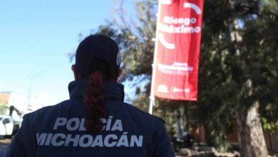 Lázaro Cárdenas, Morelia y Uruapan, con Bandera Roja por COVID-19