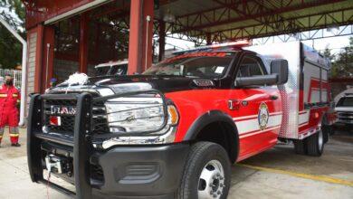 Entregan vehículo de ataque rápido a Protección Civil Pátzcuaro