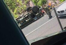 Se vuelca camión del Ejército Mexicano; dos soldados perdieron la vida