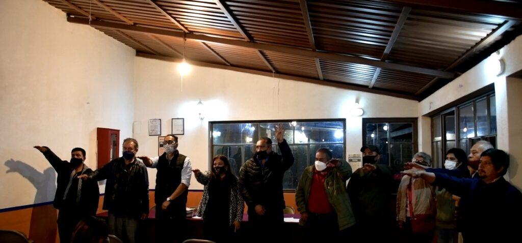 Comité Municipal interino de Morena en Pátzcuaro Morena Pátzcuaro