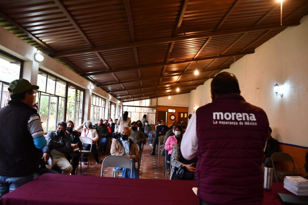 Definen al nuevo Comité Municipal interino de Morena en Pátzcuaro