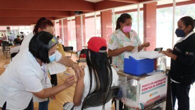 Pátzcuaro vacunación segunda dosis 30 a 39 años