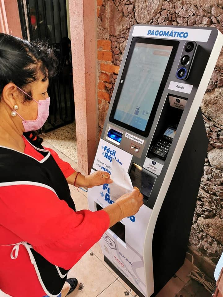 Instalan CAJERO AUTOMÁTICO para cobro de agua el primer día de Gobierno en Zitácuaro