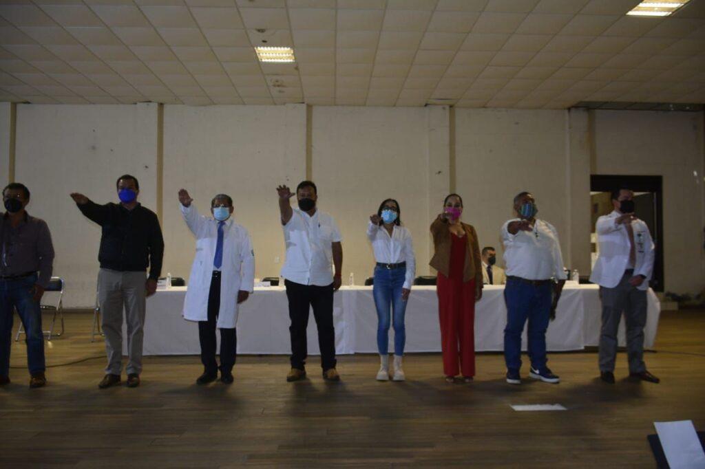 Se instala Comité de Salud en Pátzcuaro