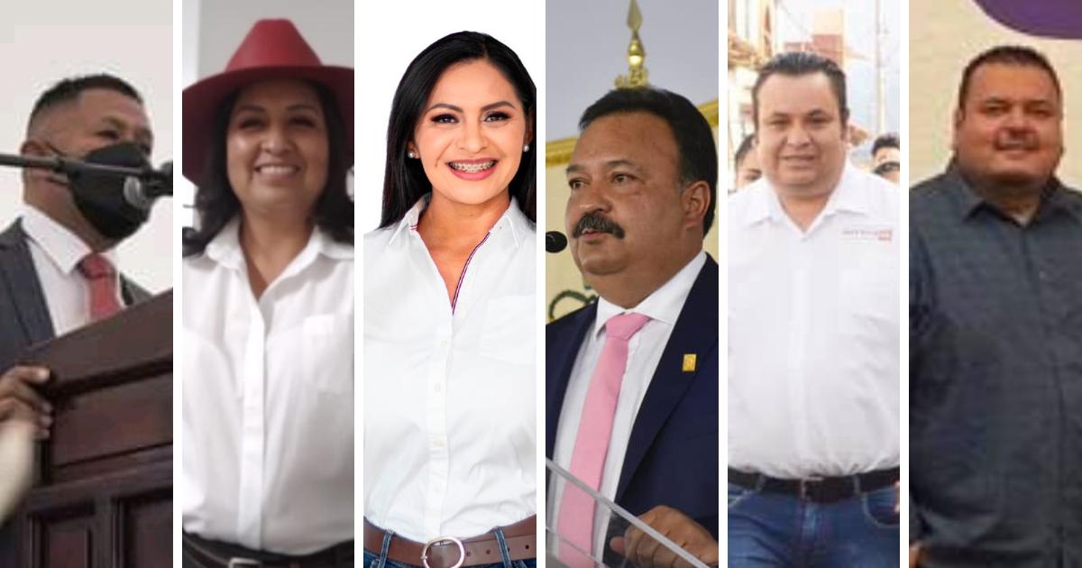 Toman protesta los nuevos presidentes municipales de la región lacustre